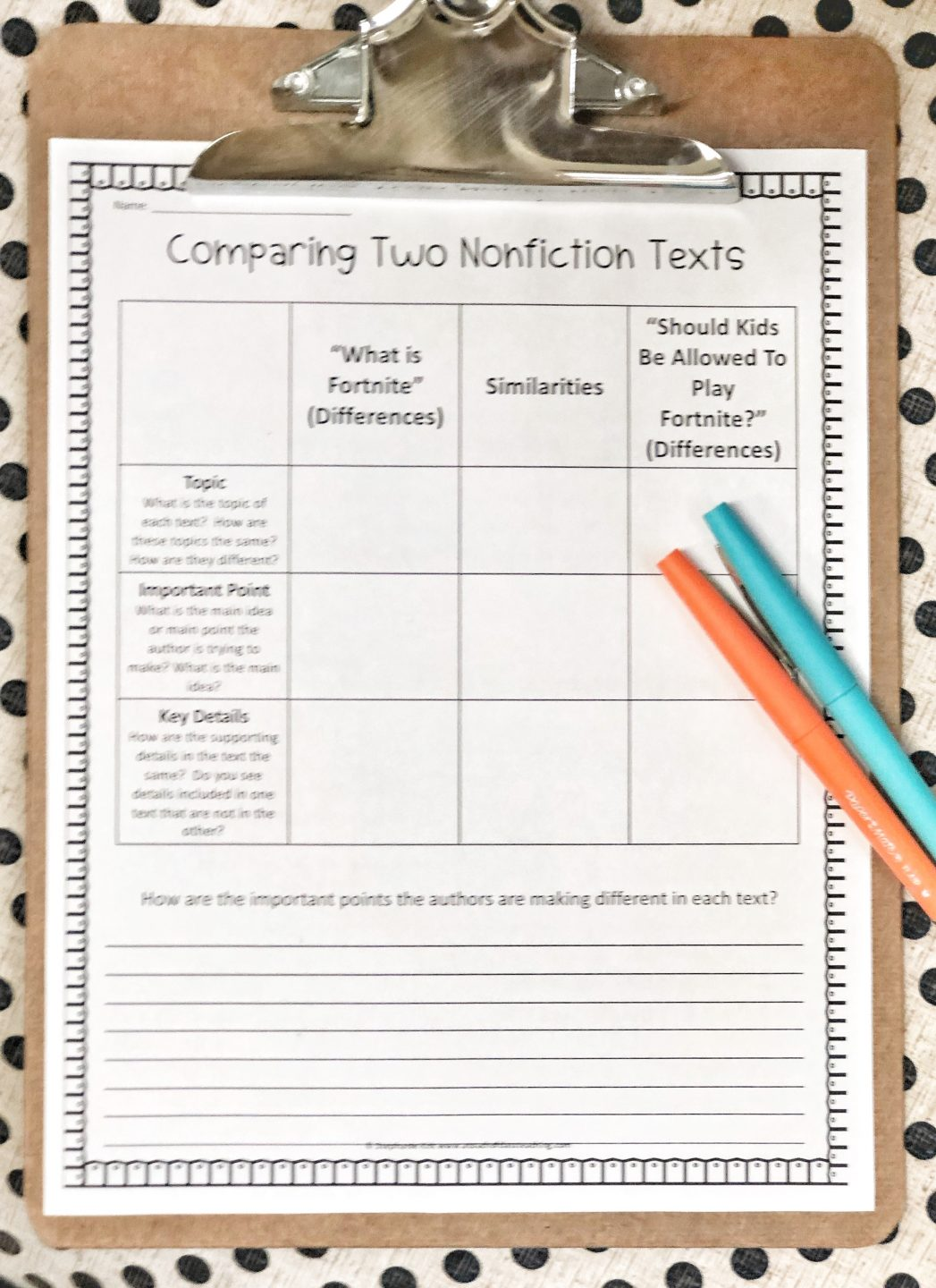 Comparing Text Activity