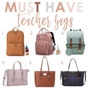 must have teacher bag examples
