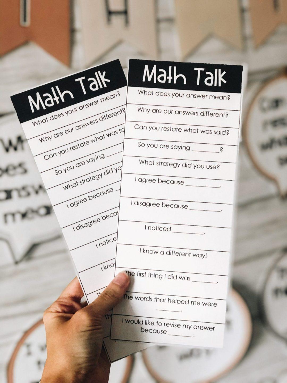 math accountable talk stems