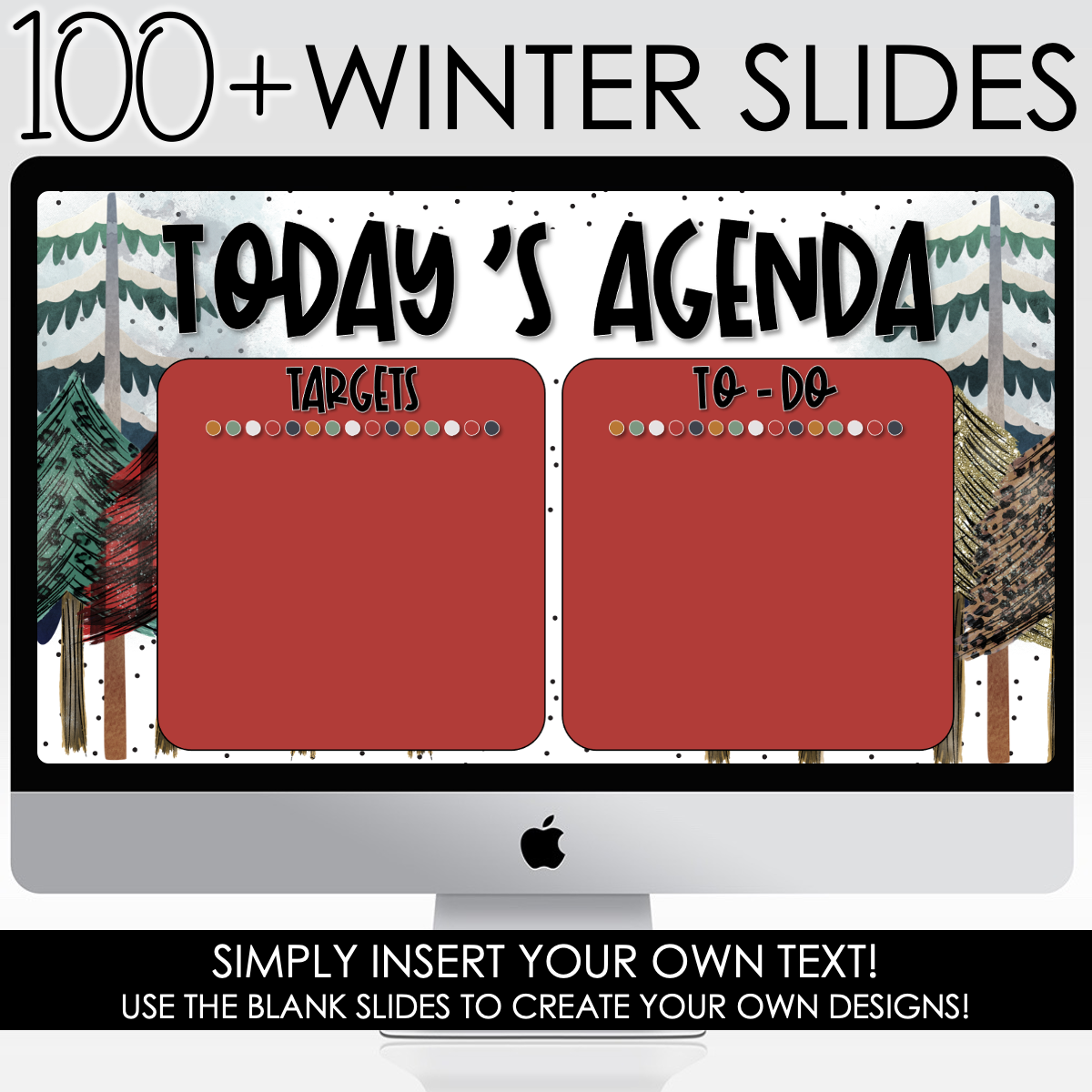 Click to Download Your Winter Themed PowerPoint Slides
