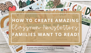 classroom-newsletters