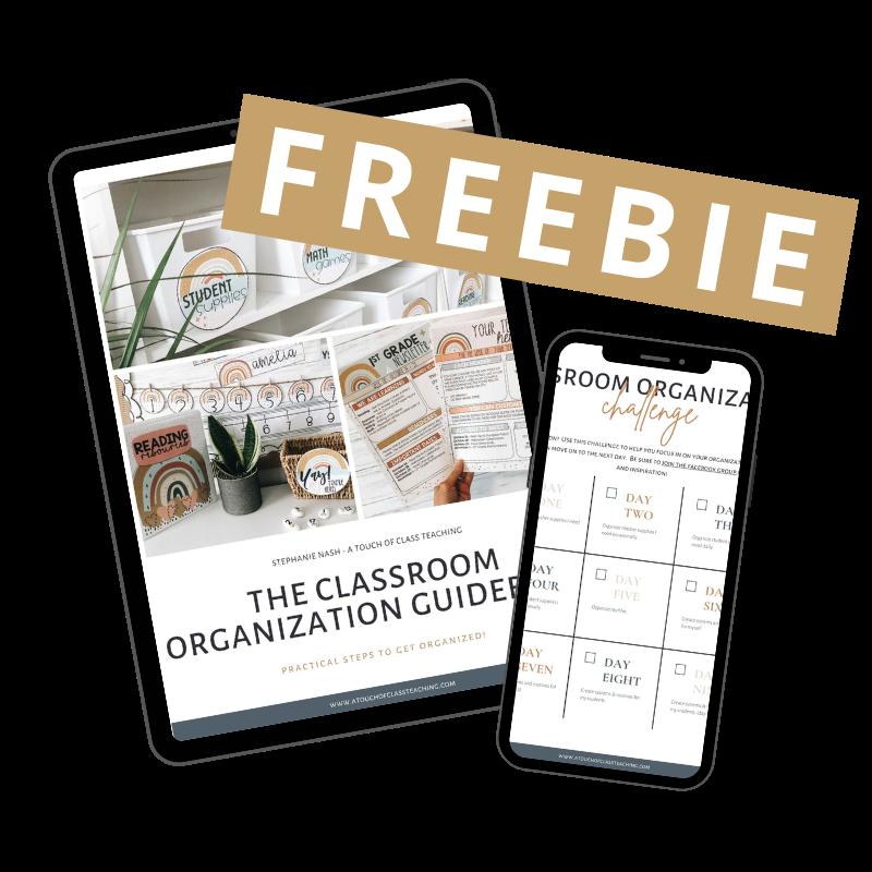 classroom organization freebie