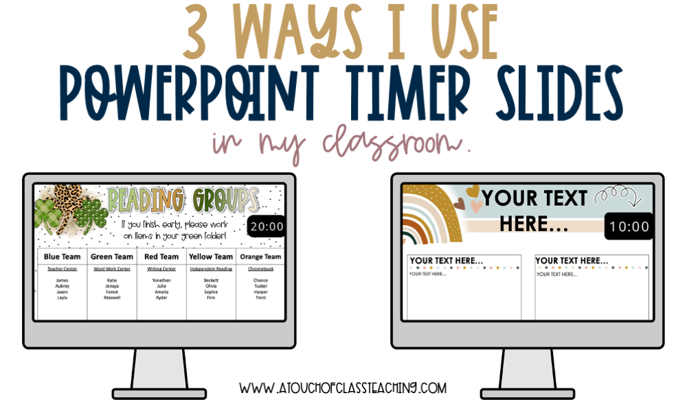 timer for powerpoint slides