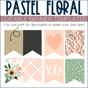 an example of printable banner templates