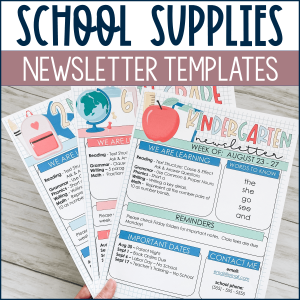 back to school newsletters