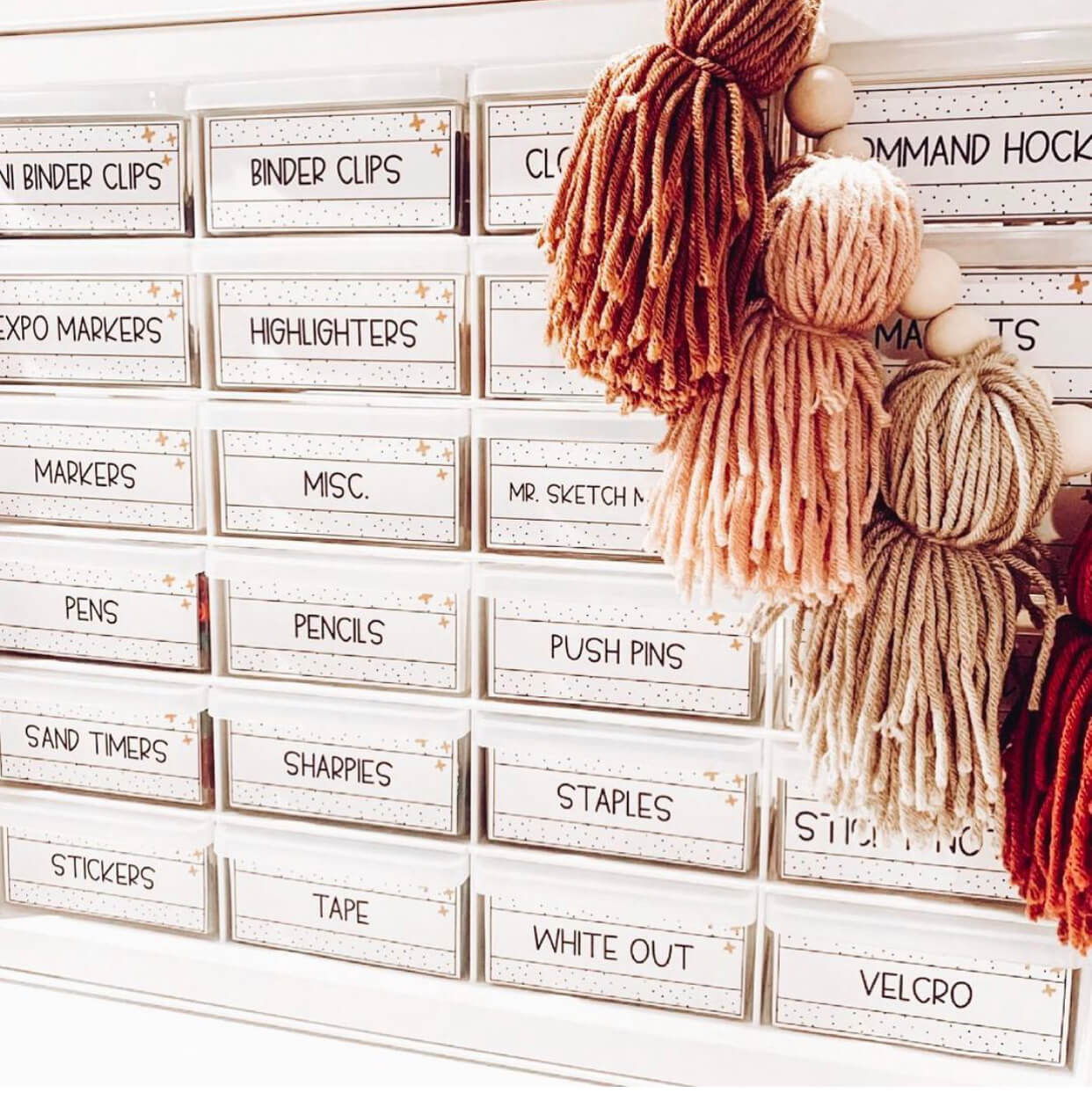 Using a teacher toolbox is one classroom organizaton idea for this upcoming school year.