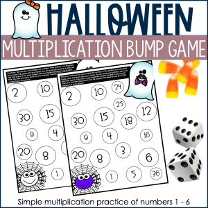Halloween Math Game Cover