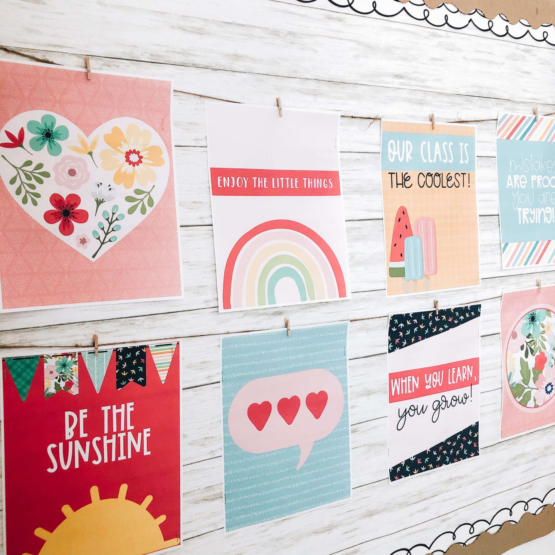 Classroom bulletin board ideas for classroom decor.