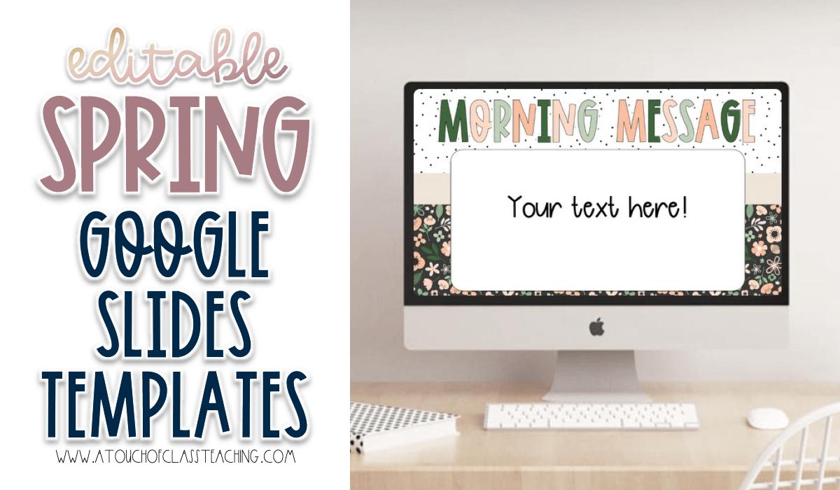 Spring Google Slides Templates