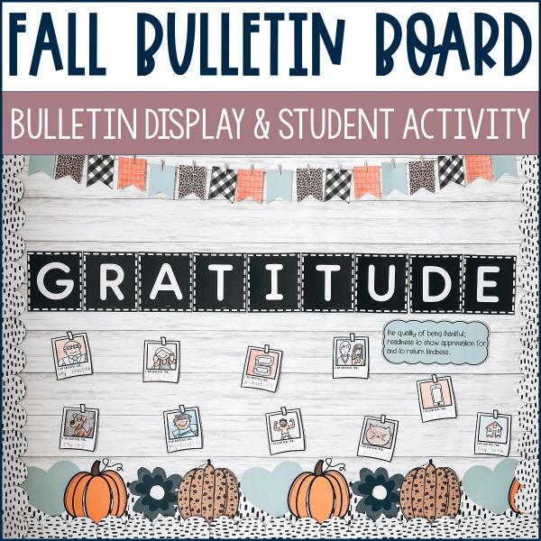 fall bulletin board
