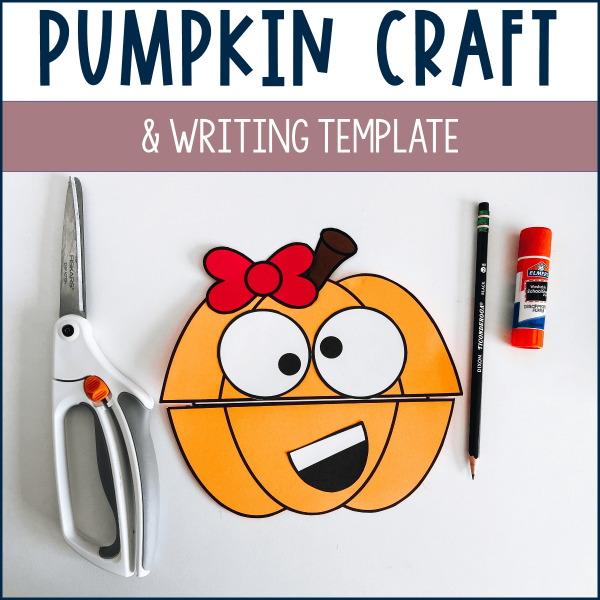Pumpkin Craft Example & product cover