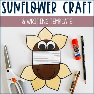 Sunflower craft example