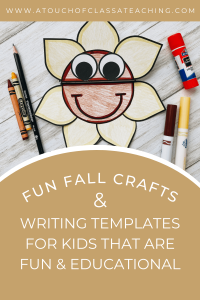 Fun fall crafts for kids that are also educational.