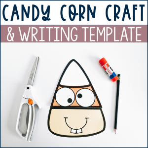 candy corn craft example